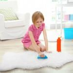 domácí čištění koberců